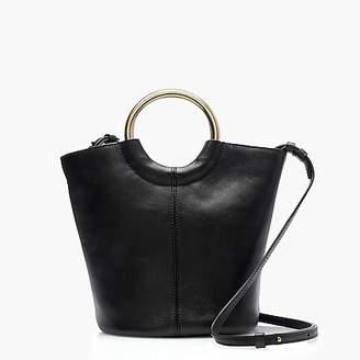 J.Crew Bracelet bucket bag in Italian leather