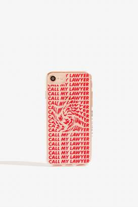 Skinny Dip Call My Lawyer Case - iPhone 6/6S/7 8 by Skinnydip
