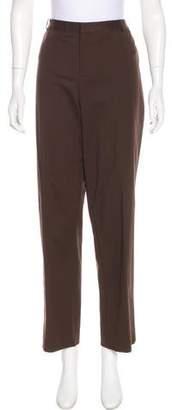 Ellen Tracy Linda Allard High-Rise Straight-Leg Pants