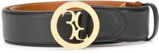 Billionaire logo buckle belt