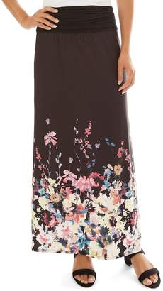 Apt. 9 Women's Print Column Maxi Skirt