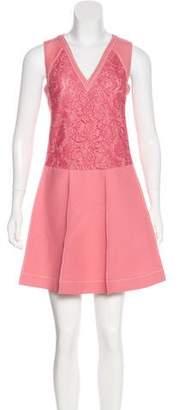 Valentino Virgin Wool & Silk Dress w/ Tags