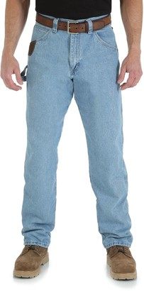 Riggs Workwear Men's Relaxed-Fit Carpenter Jeans