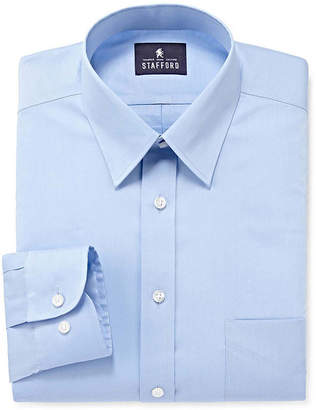 STAFFORD Stafford Comfort Stretch Long Sleeve Dress Shirt - Big & Tall