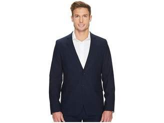 Calvin Klein Slim Fit Two-Button Notch Lapel Fine Cord Stripe Bi-Stretch Jacket