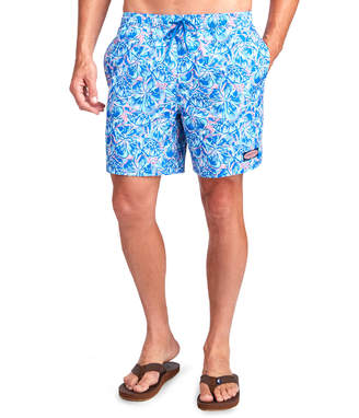 Vineyard Vines Tropical Turtles Chappy Trunks