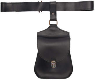 Cherevichkiotvichki Black Mini Belt Bag