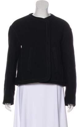 Chloé Silk & Virgin Wool Jacket