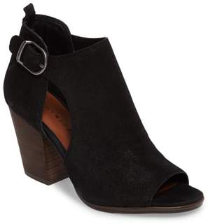 Women's Lucky Brand Oona Open Side Bootie