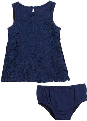 Kate Spade sleeveless heart lace dress w/ bloomers size 12-18 months