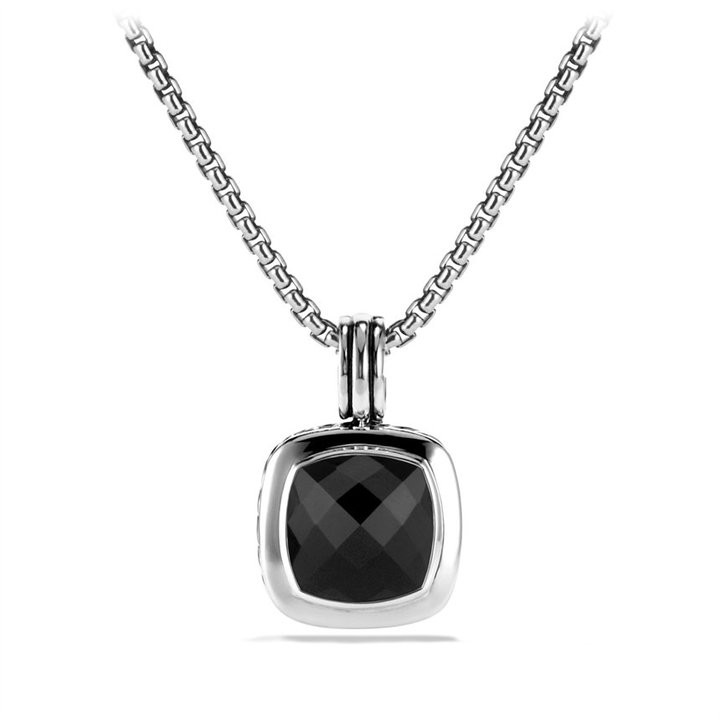 David Yurman Albion Pendant with Blue Topaz