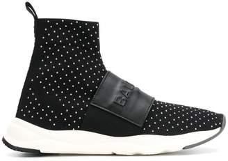 Balmain Cameron high top sneakers