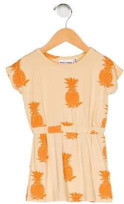 Mini Rodini Girls' Pineapple Print Dress