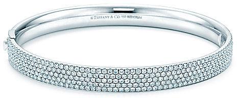Tiffany Metro:Five-row Hinged Bangle