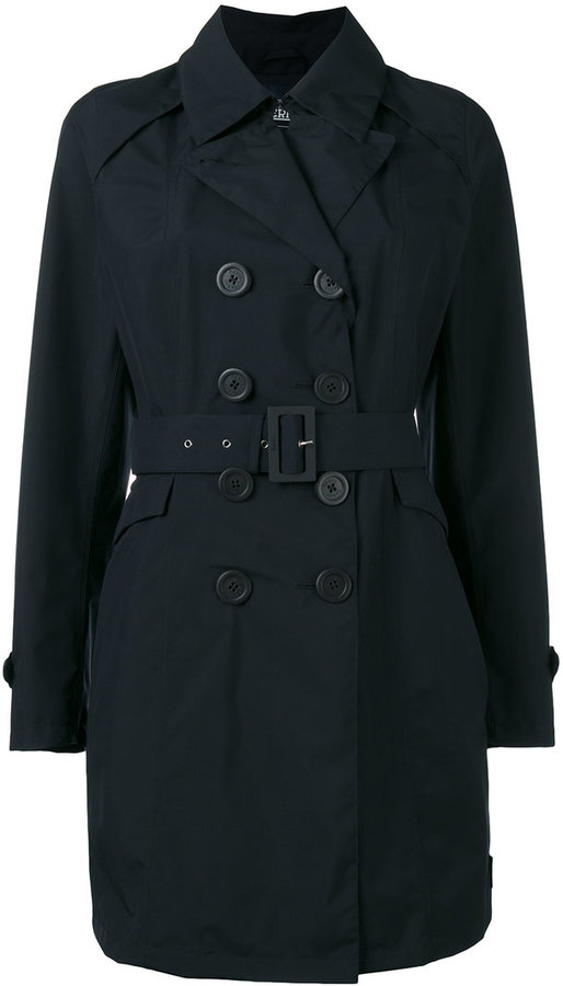 HernoHerno belted trench coat