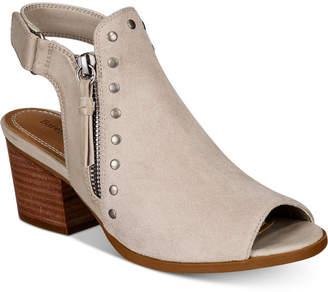 Bare Traps Ivella Block-Heel Booties Women's Shoes