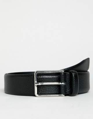 Esprit Leather Formal Belt In Black