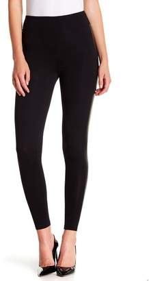 Abound Faux Leather Striped Leggings