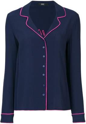 Steffen Schraut Goodbye pyjama style shirt