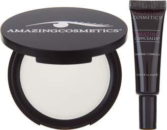 Amazing Cosmetics Amazingcosmetics Concealer and Velvet Mineral Powderset