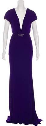Nicole Miller Embellished Maxi Dress