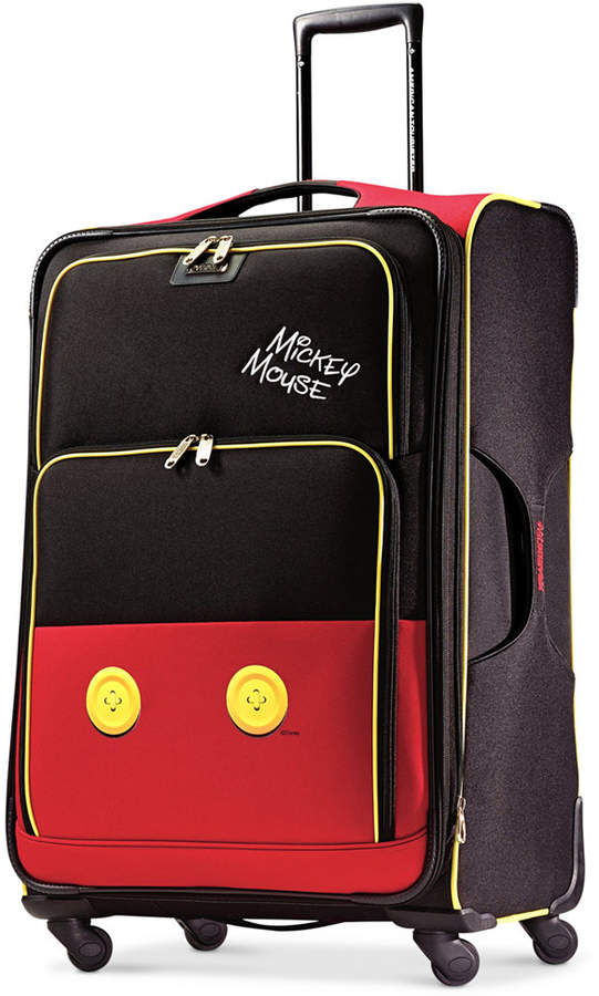 """DisneyDisney Mickey Mouse Pants 28"""" Spinner Suitcase by American Tourister"""