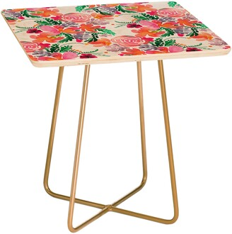 Deny Designs Sweet Bloom Side Table