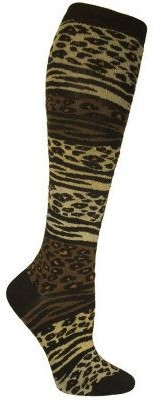 Ozone Design Set of 2 Zepard Socks