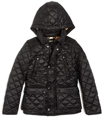 Burberry Boys' Charlie Quilted Jacket - Little Kid, Big Kid
