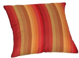 Bay Isle Home Rysing Sunbrella Stripe Outdoor Throw Pillow