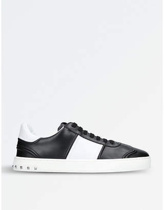 Valentino Fly Crew leather trainers