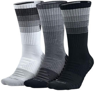 Nike 3 Pair Dry Cushion Training Crew Socks - Big & Tall