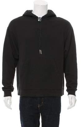 Alexander Wang Hooded Classic Black Sweatshirt