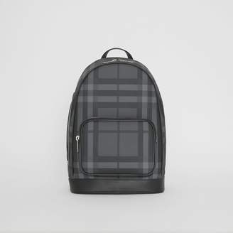 Burberry Check and Leather Backpack