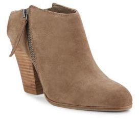 Hadlyn Stacked Heel Booties $140 thestylecure.com