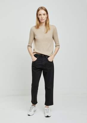 6397 Shorty Black Jeans