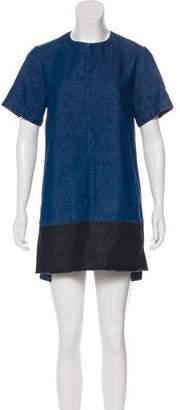 Proenza Schouler Denim Shift Dress