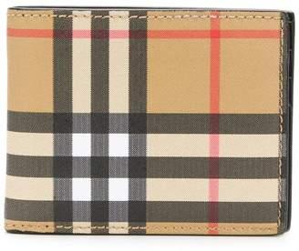 Burberry Vintage Check bi-fold wallet
