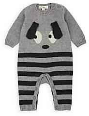 Roxy The Bonnie Mob Infants' Bunny-Intarsia-Knit Playsuit - Gray