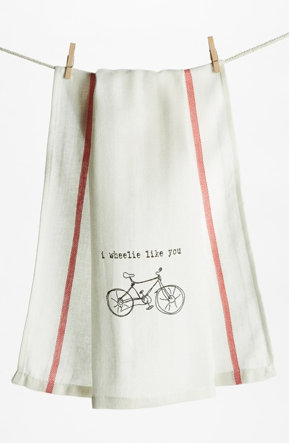 Second Nature By Hand 'I Wheelie Like You' Towel (2 for $16)