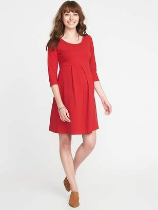 Old Navy Maternity Jersey Fit & Flare Dress