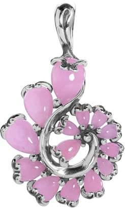 Carolyn Pollack Embrace the Stone Pink Jade Spiral Enhancer