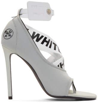 Off-White Off White Grey Yoga Sandals