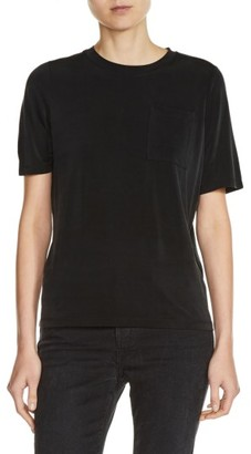 Women's Maje Pocket Tee $155 thestylecure.com