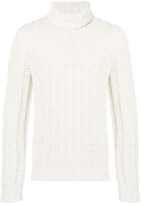 Tod's chunky knit turtleneck sweater