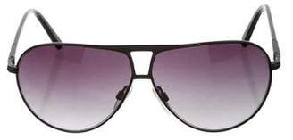 Gianfranco Ferre Aviator Tinted Sunglasses