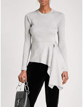 3.1 Phillip Lim Ribbed Side-Tie knitted jumper