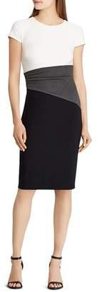 Ralph Lauren Color-Block Dress