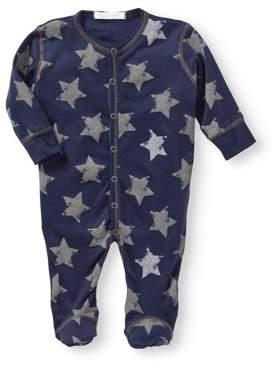 Baby Steps Newborn Baby Boy Footie Coverall Pajama