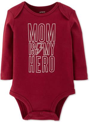 Carter's Baby Boys Mom Is My Hero Cotton Bodysuit